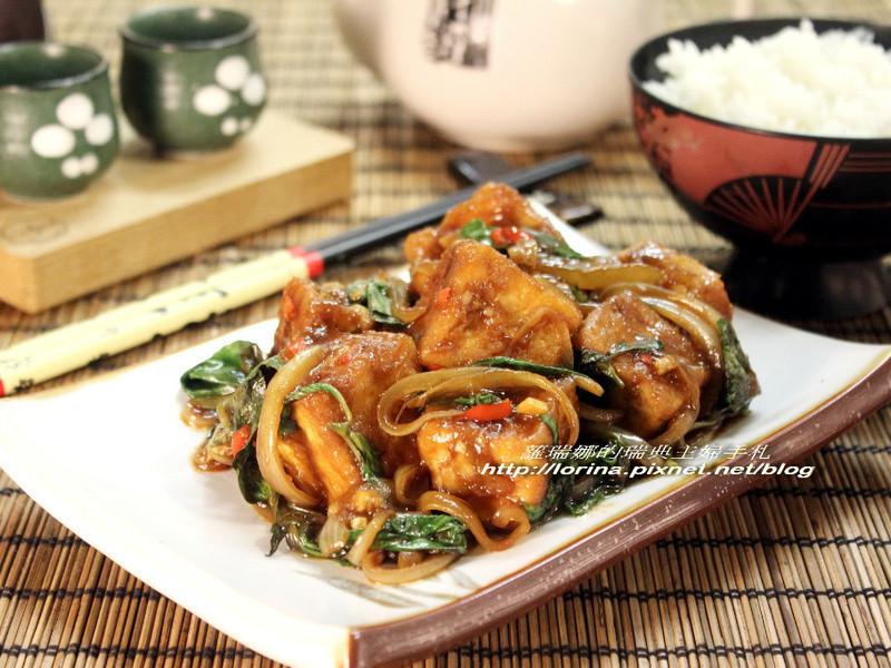 超級下飯之塔香豆腐