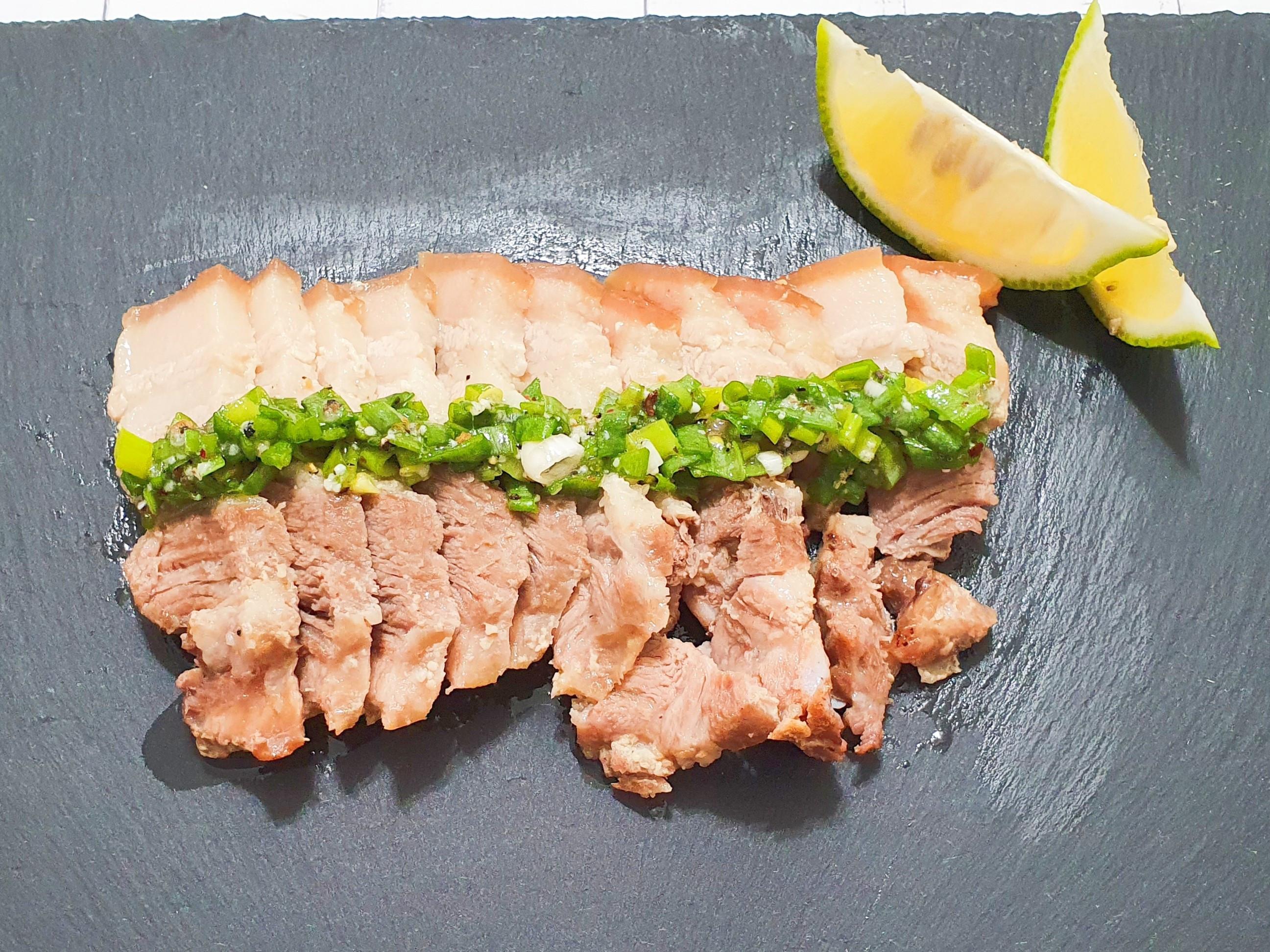 烤鹽麴五花肉(一)
