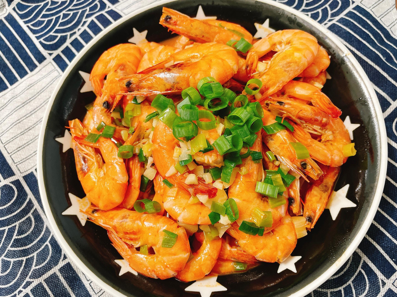 炒蝦~簡單快速又美味料理