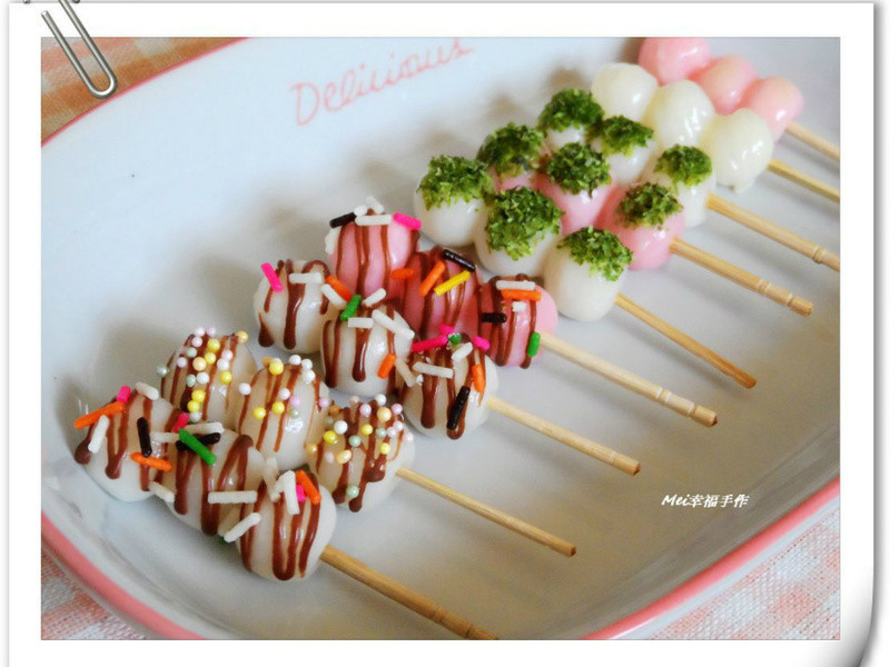 【小湯圓另類新吃法】小湯圓棒棒糖
