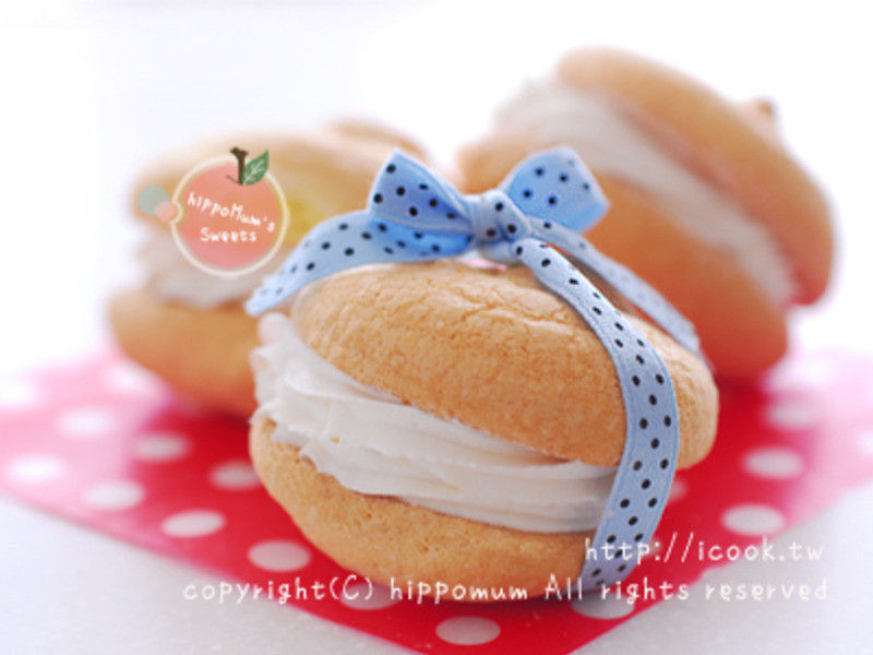 法式海綿小蛋糕 (ブッセ - bouchée)