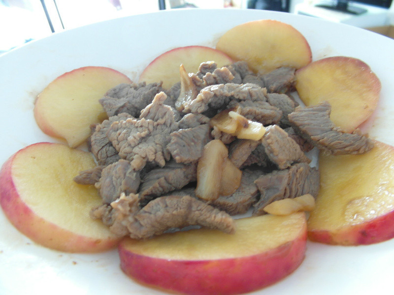 蘋果牛肉條
