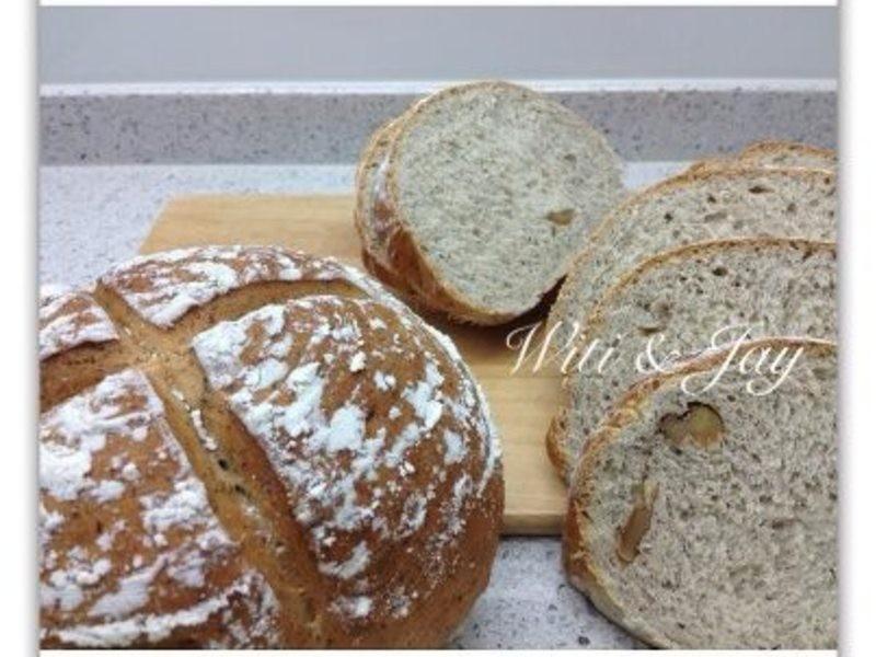 [Witi✿Kitchen](麵包機-麵包)蕎麥核桃麵包