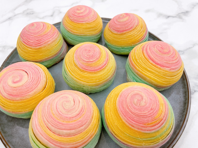 彩虹芋頭酥🌈