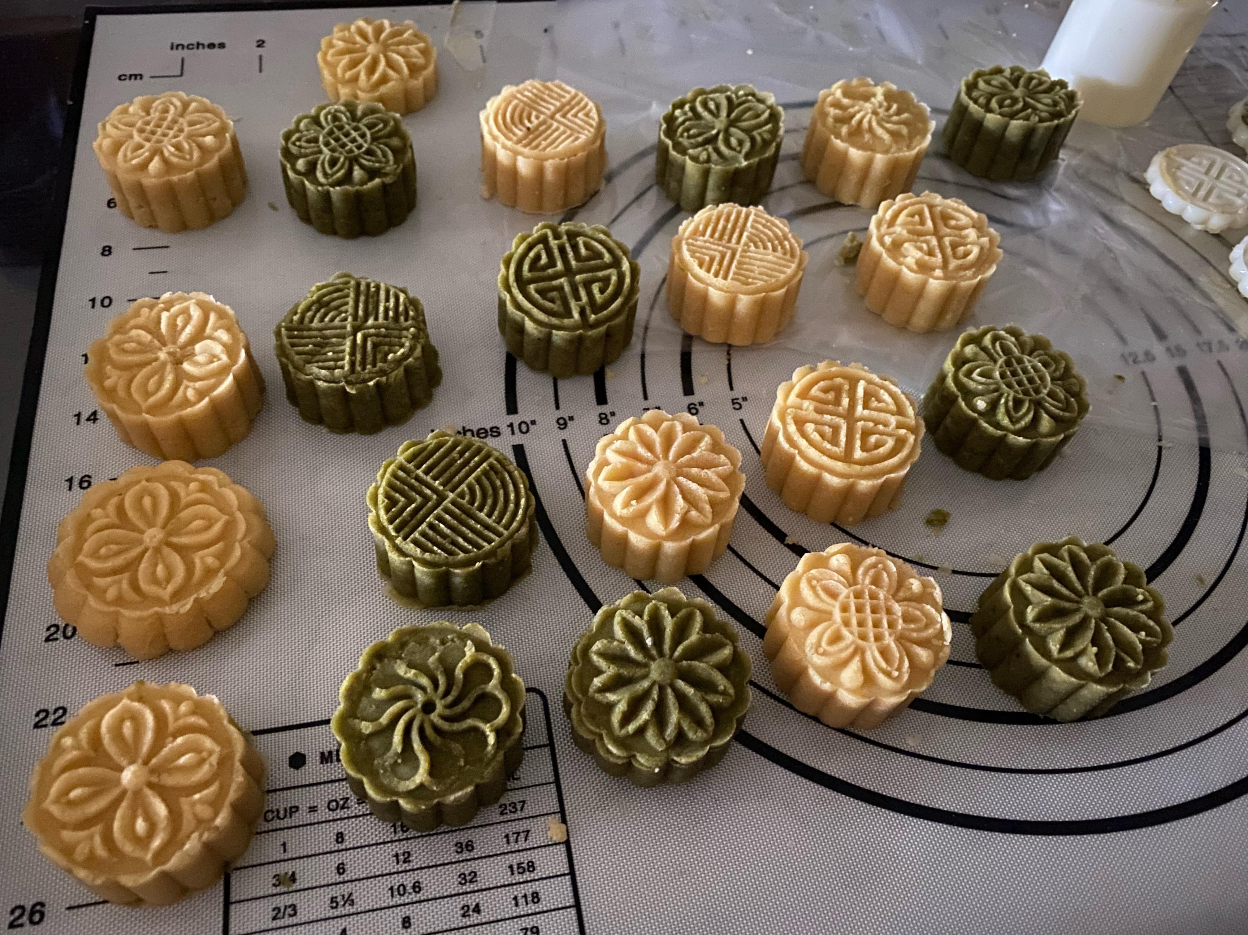 美味綠豆糕(原味/抹茶)