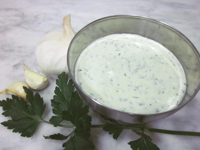 地中海蒜頭醬 (無蛋配方)