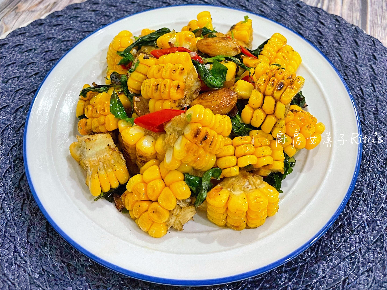 椒鹽甜玉米