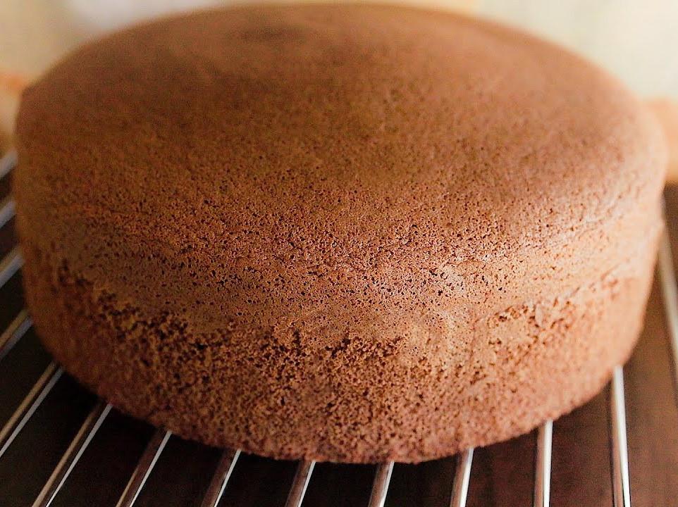 巧克力海綿蛋糕  簡易食譜