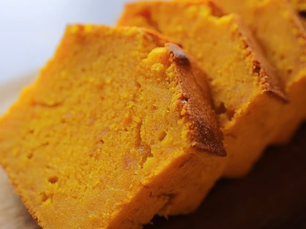 超濃郁南瓜磅蛋糕   簡易食譜 🎃