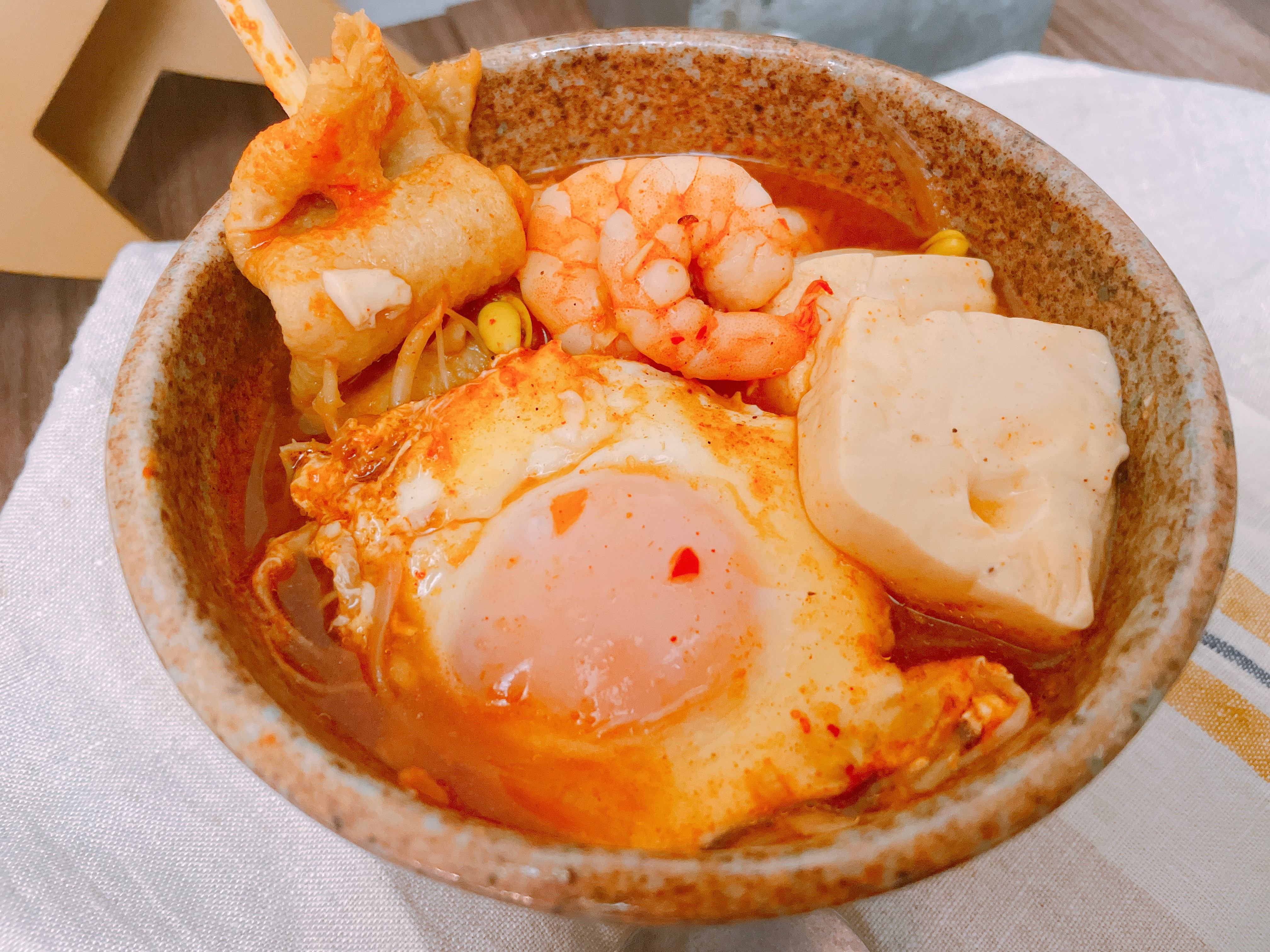 韓式辣醬豆腐湯