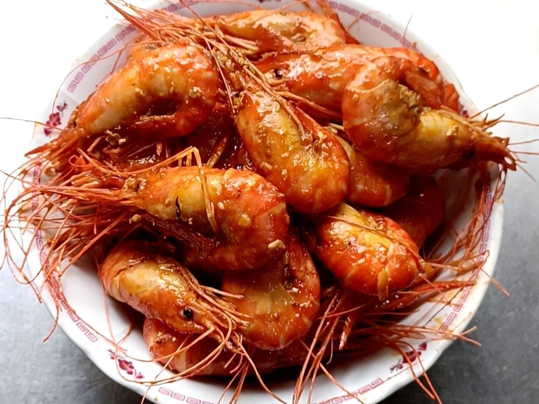 蒜炒泰國蝦