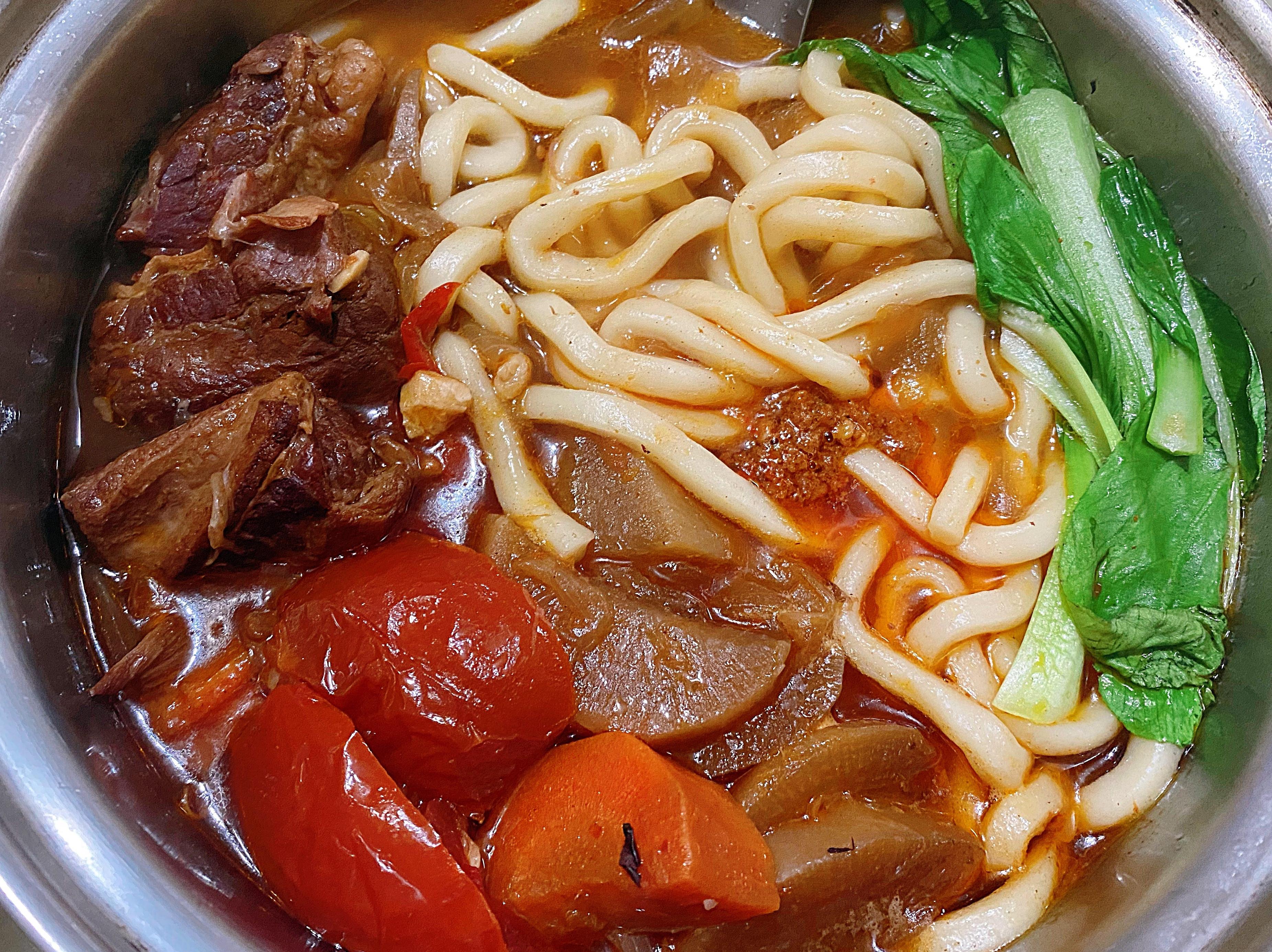 紅燒番茄牛肉湯《紅燒番茄牛肉麵》