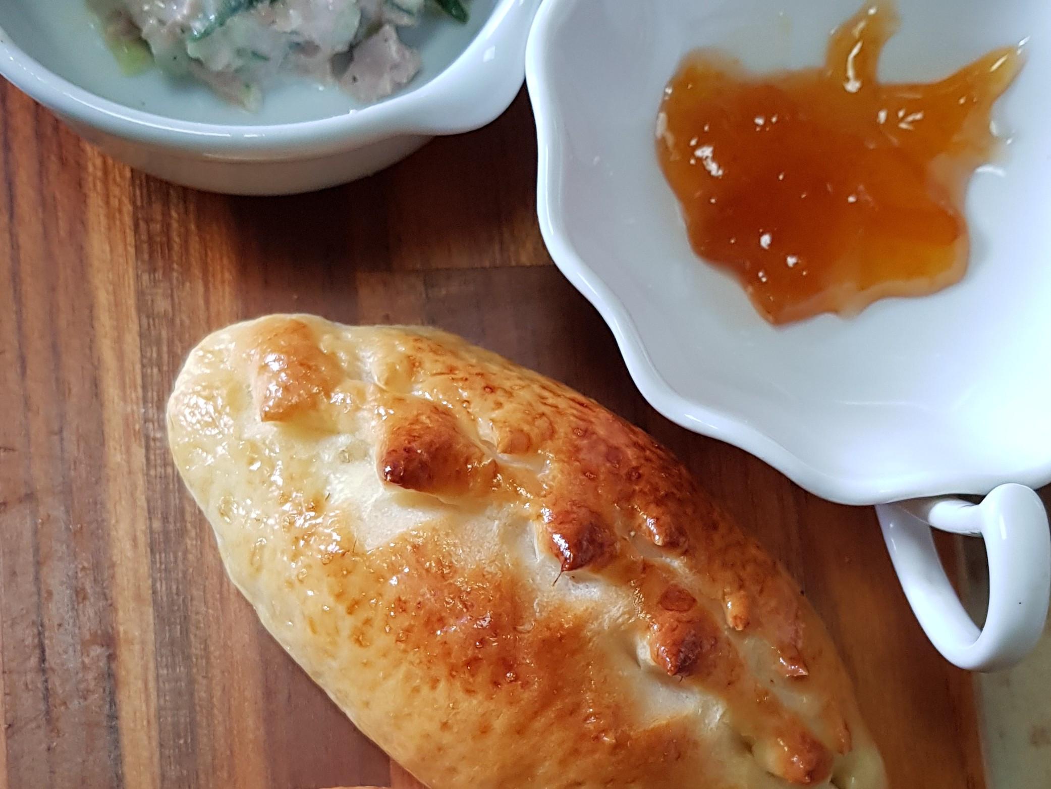 免揉歐式麵包-維也納牛奶餐包