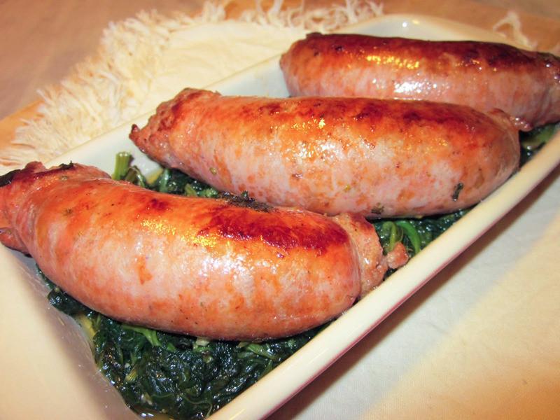 南義國民菜! 芥藍炒肉腸