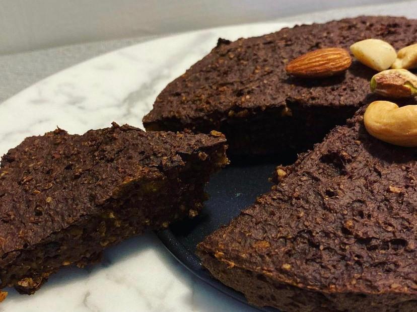 《南瓜布朗尼蛋糕🎃無麵粉無奶油低醣》