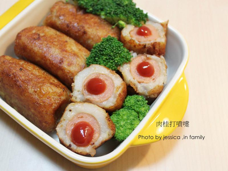 【肉桂打噴嚏】馬鈴薯熱狗午餐