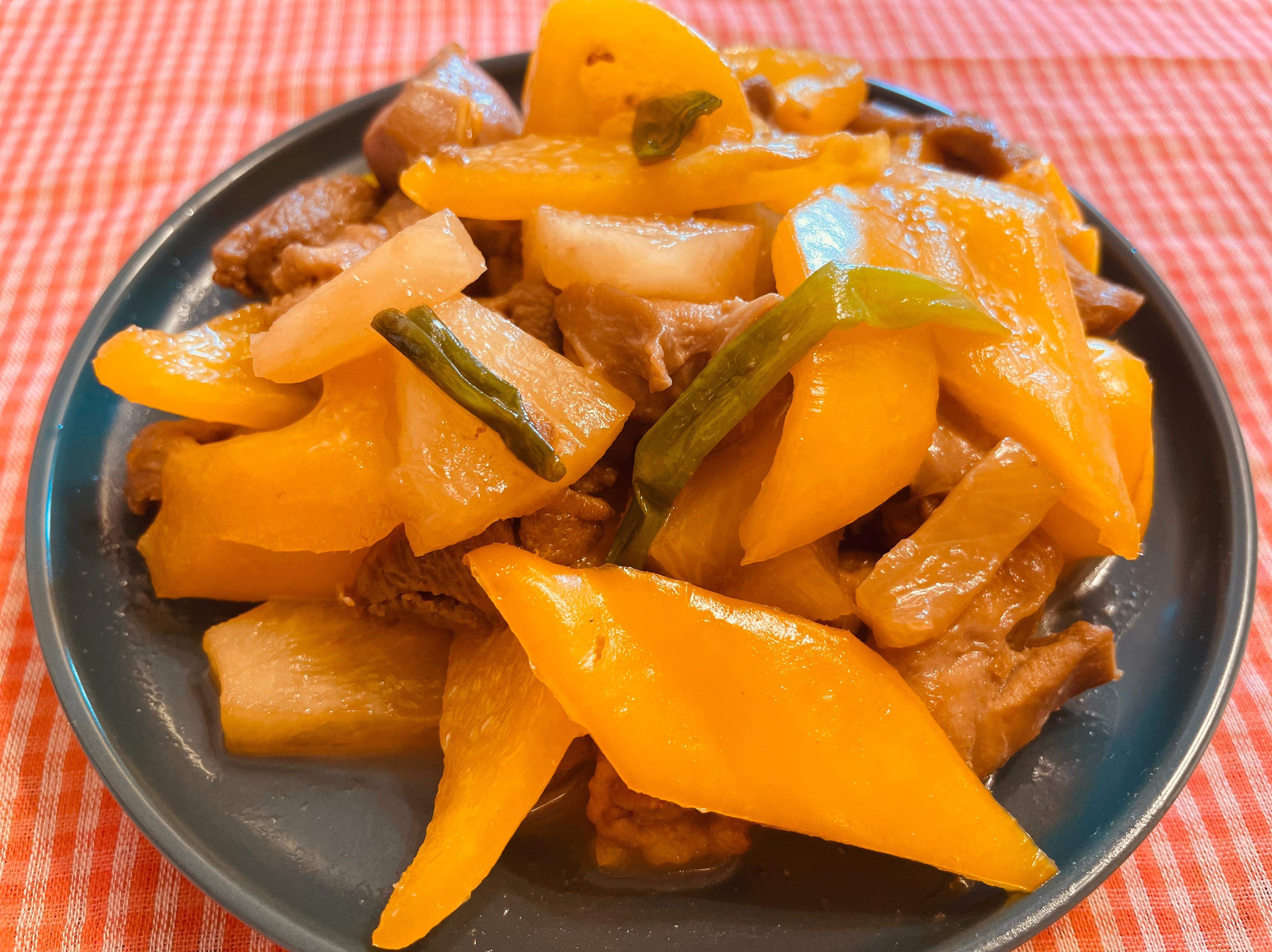 鳳梨甜椒雞丁