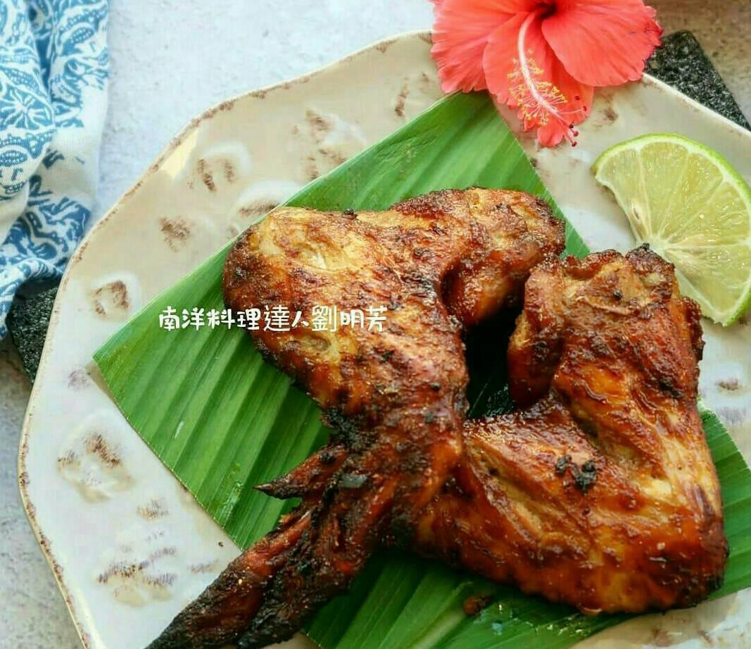 南洋料理達人劉明芳--南洋風味烤雞翅