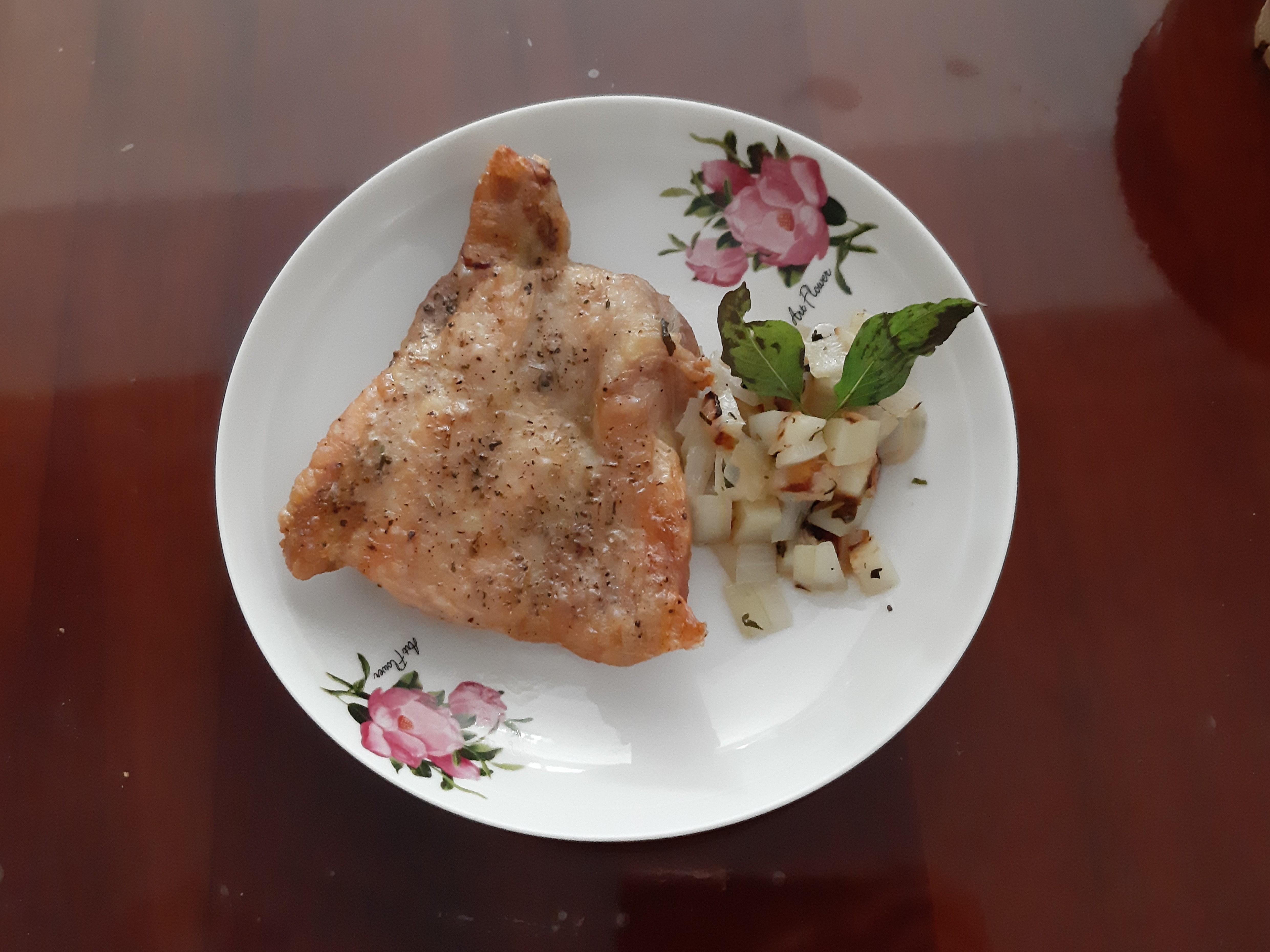氣炸義式香料雞