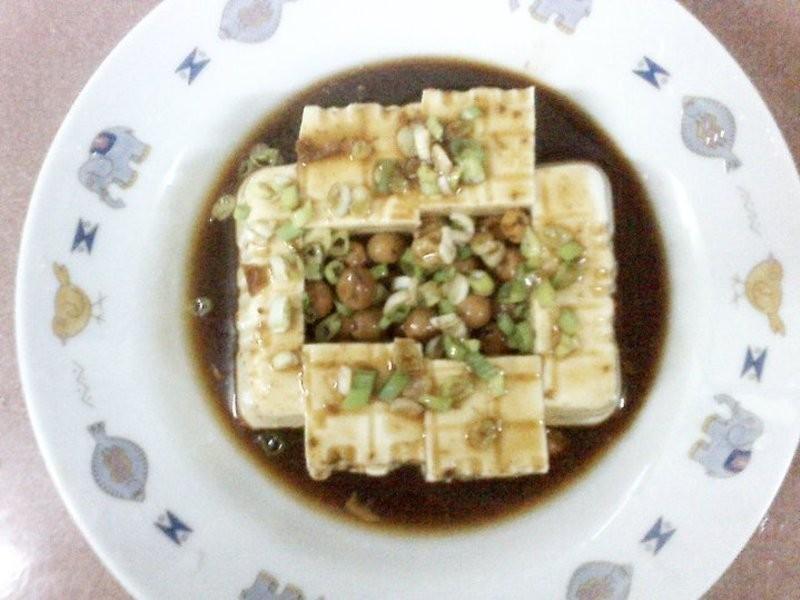 涼拌豆腐(破布子)
