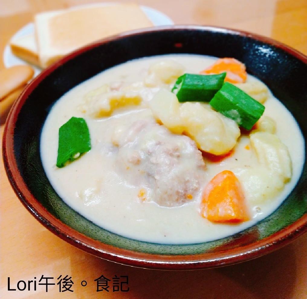 黑豆漿奶油燉菜