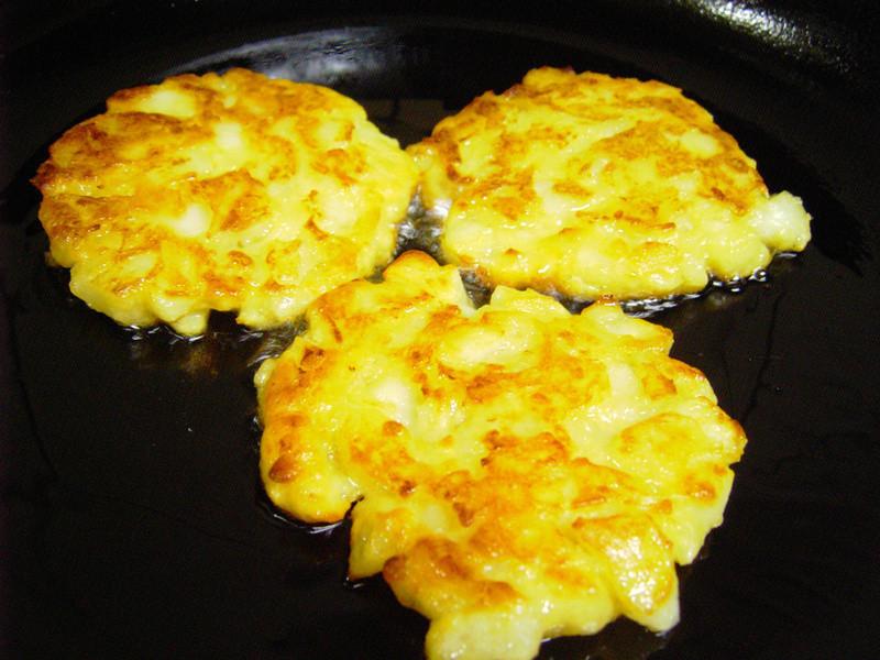 馬鈴薯煎餅(甜味)