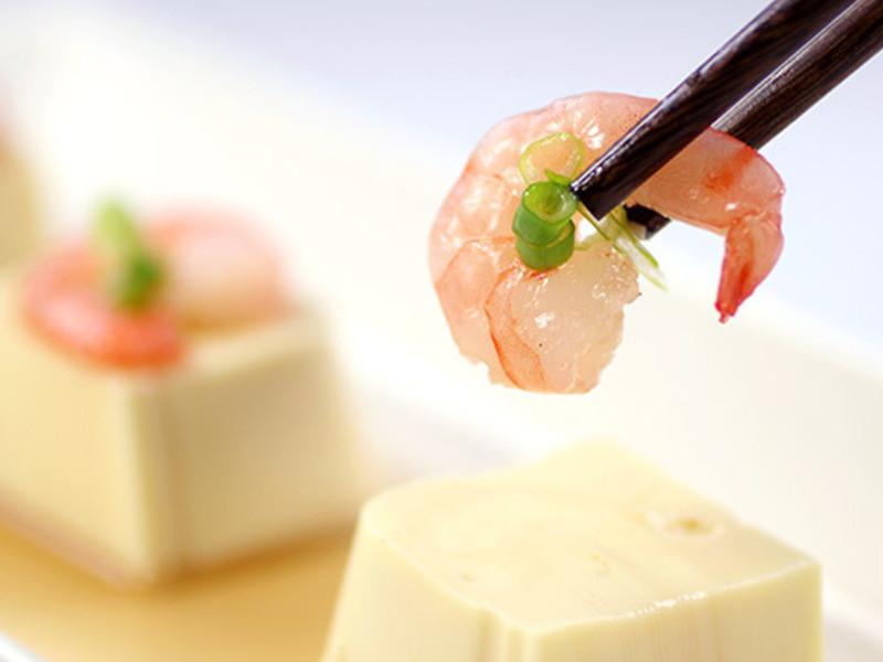 清蒸豆腐蔥花蝦。簡單4步驟,你也是廚神[尋鮮本舖-大寶の懶人廚房♪]