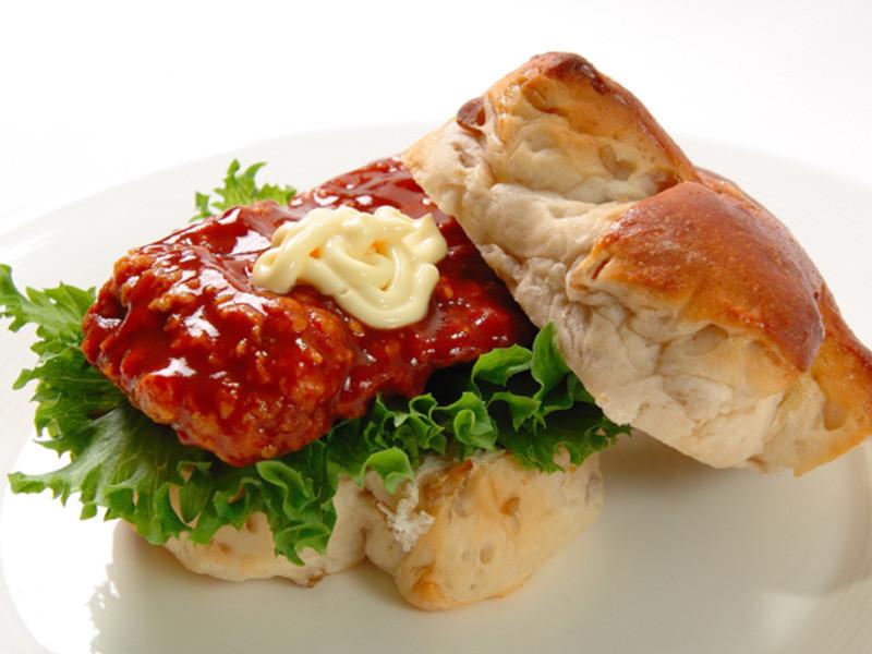 日式雞排香醋漢堡