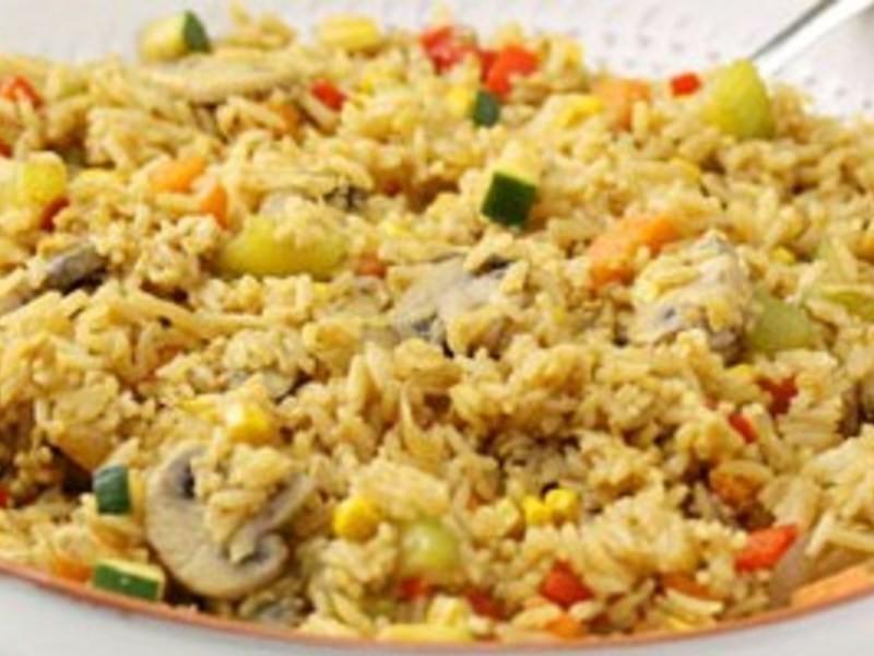 減重食譜10-低卡素菜炒飯