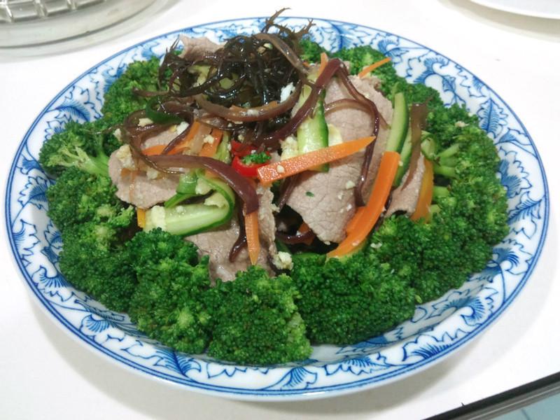 水煮牛肉*有飽足感的健康減肥餐*