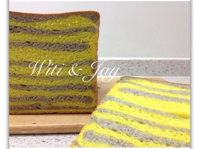 [Witi✿Kitchen](麵包機-麵包)蜜蜂紋吐司