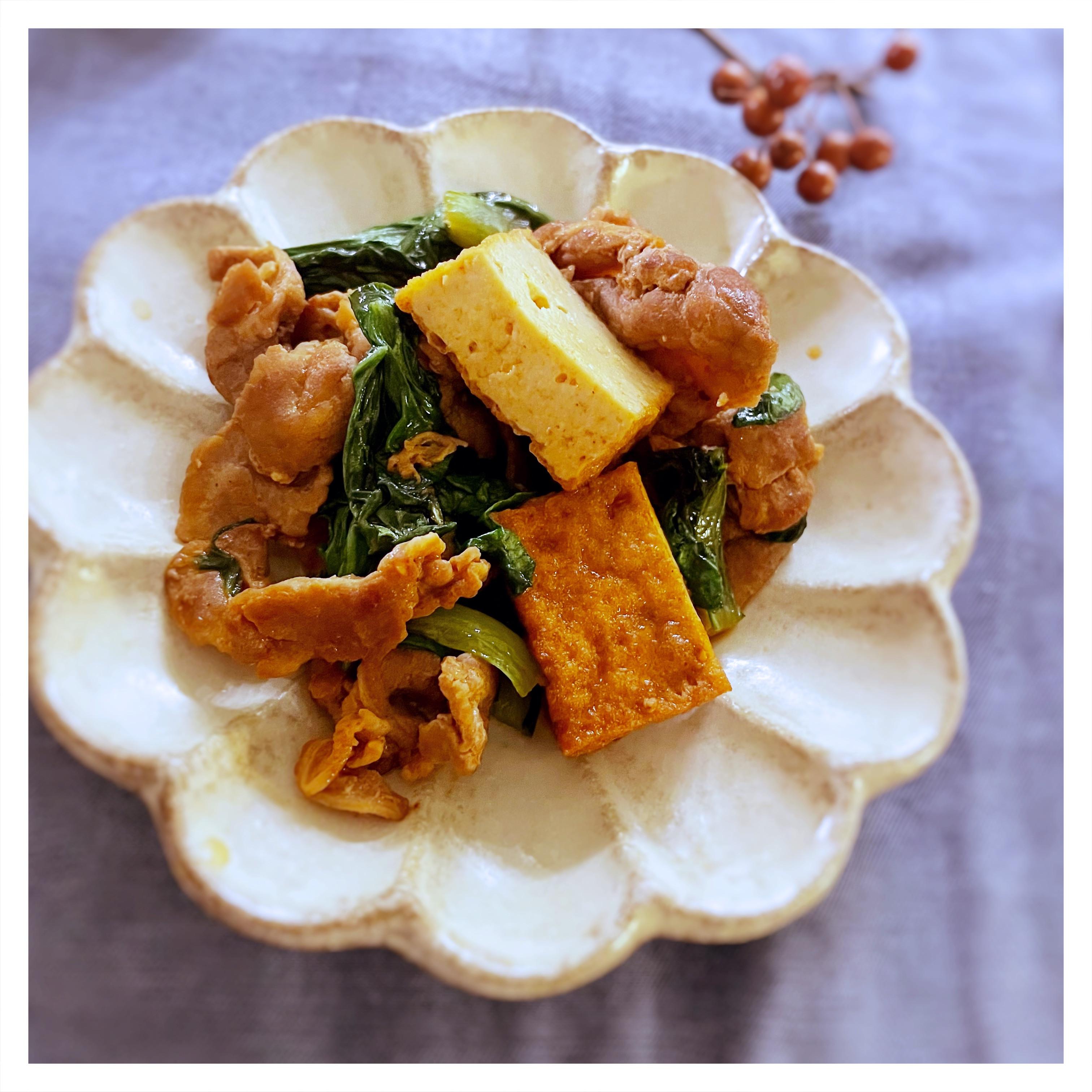 韓式辣醬炒肉片