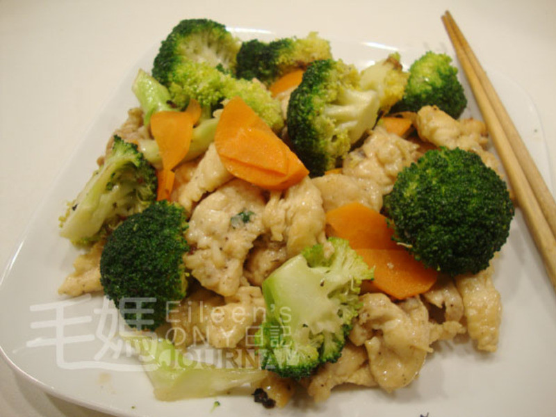 西芥蘭炒雞片 Chicken Broccoli