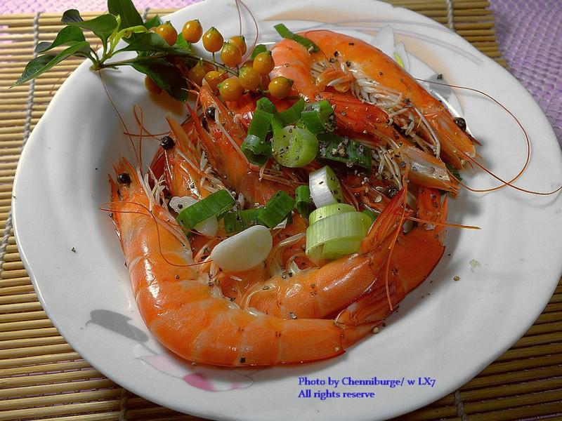 日常菜色香炒明蝦