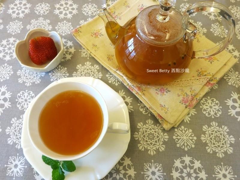 果香滿溢的水果茶