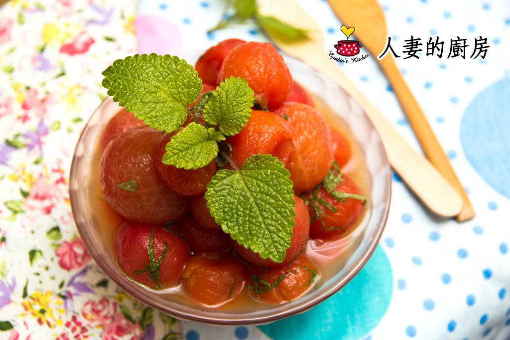 【人妻的廚房】梅醬漬蕃茄