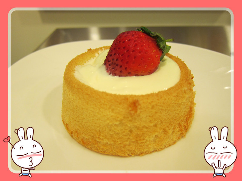 【S&Cm】戚風蛋糕佐優格鮮奶油