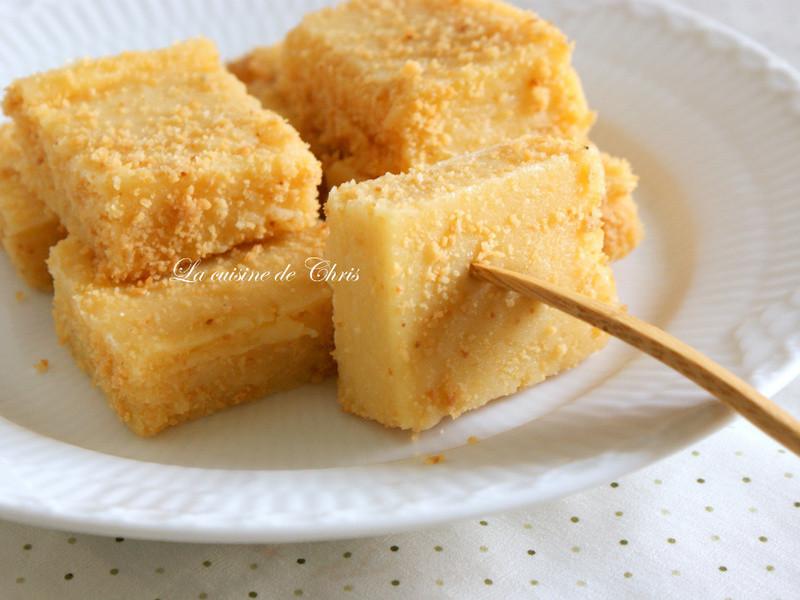 [甜點] 黃金涼糕