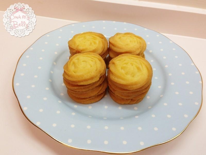 ♥PinchMyBelly♥ 玫瑰花奶油酥餅
