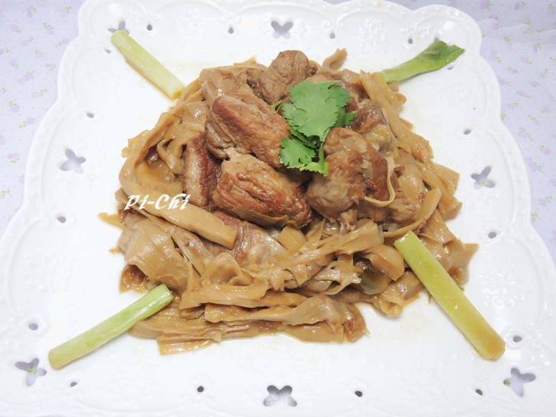 筍乾梅花肉