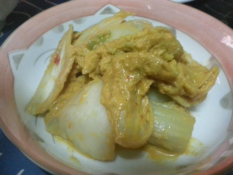 黃金胡麻泡菜