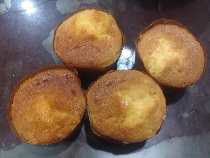 柚子杯子蛋糕
