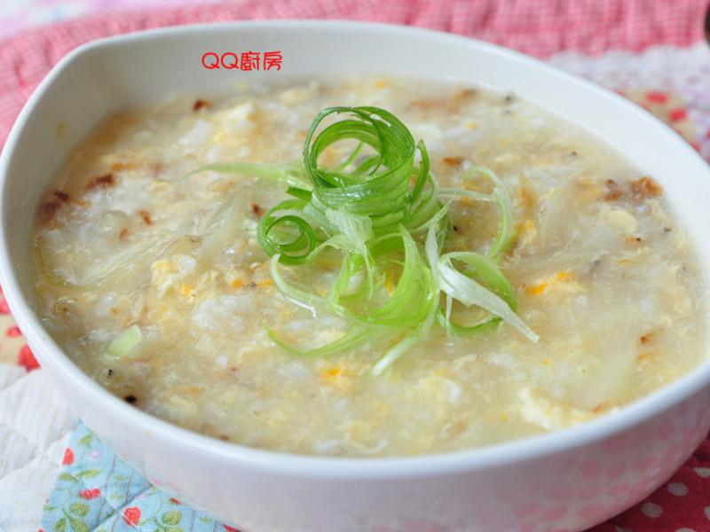 【黃金女郎料理】吻仔魚滑蛋粥