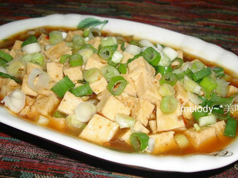 麻婆百頁豆腐