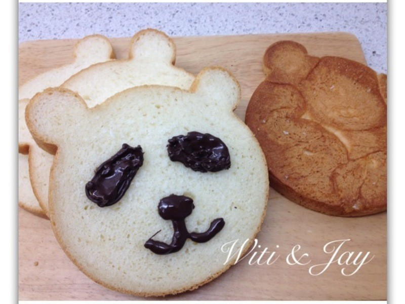 [Witi✿Kitchen](麵包機-麵包)熊貓吐司