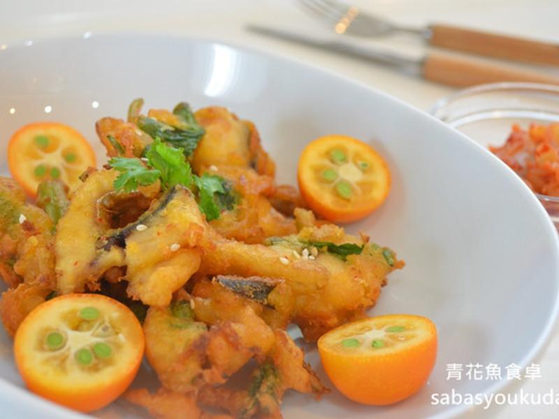 泡菜鯖魚天婦羅