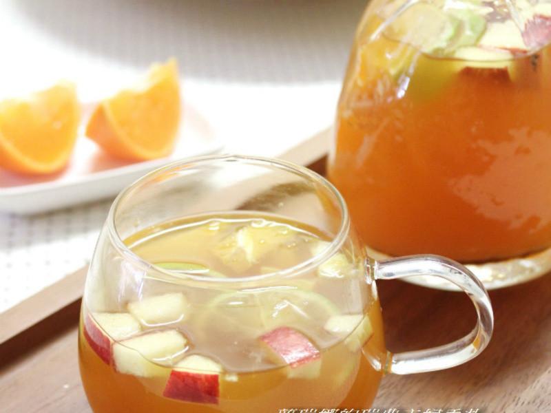 春日限定新鮮水果茶