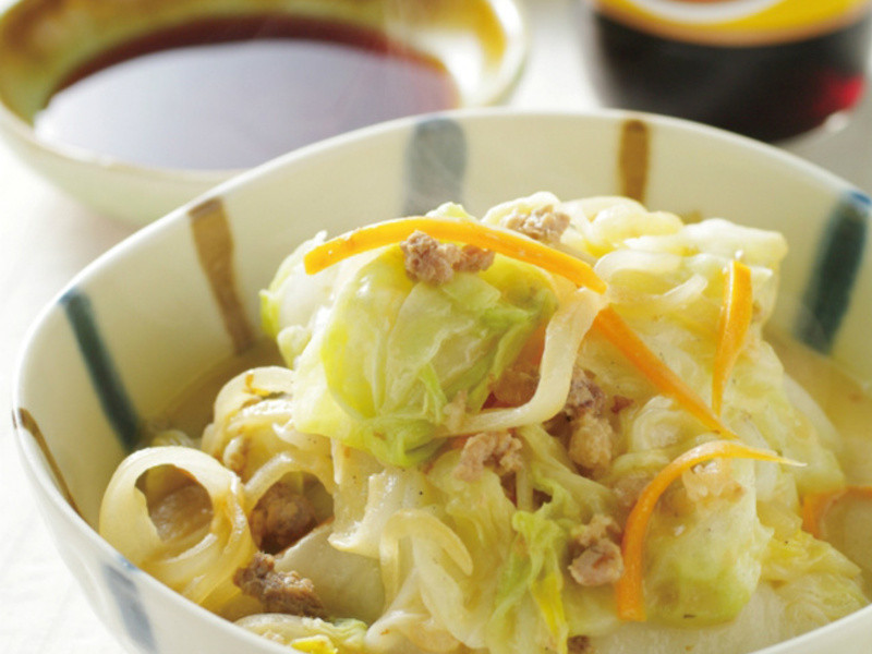 【龜甲萬樂享醍醐味】絞肉燒白菜