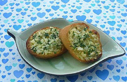 大蒜奶油醬&法國麵包