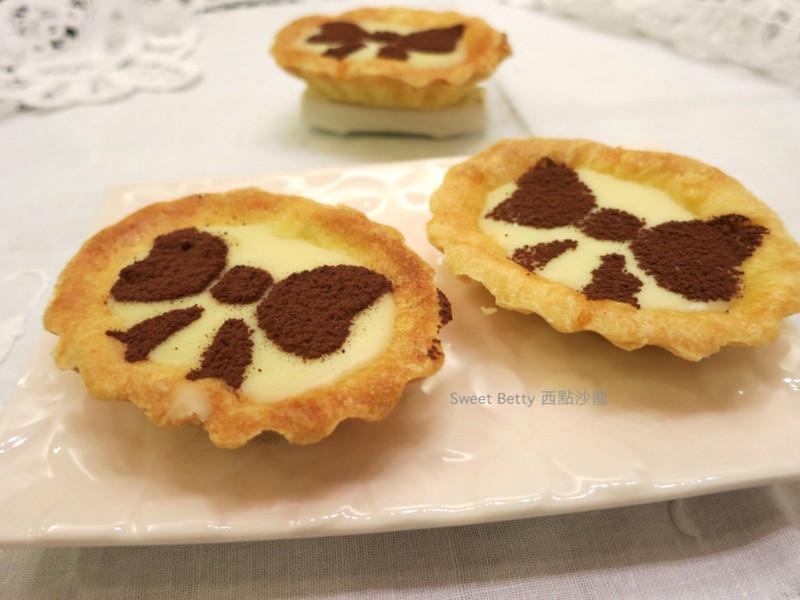 白巧克力塔~小朋友下課的時尚甜點
